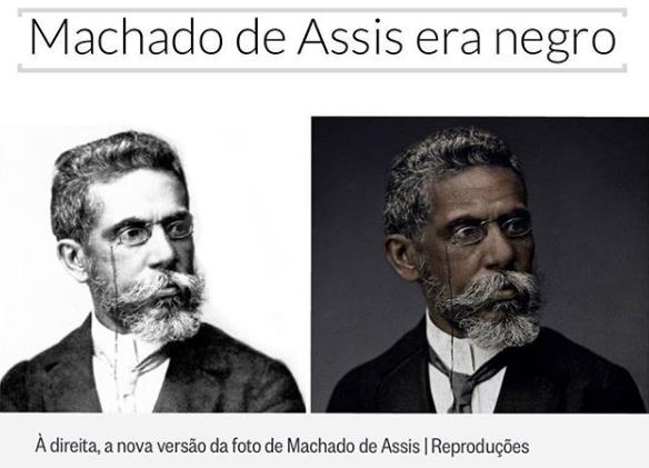 Machado de Assis era negro!